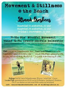 movement & stilness beach flyer