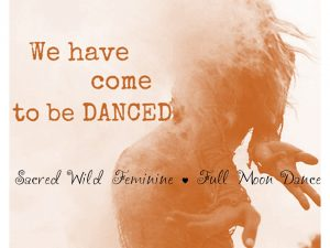 come to be danced orange full moon